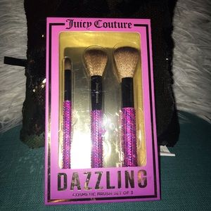 Juicy Couture Makeup brush set